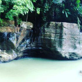 ostrov Flores vodopád