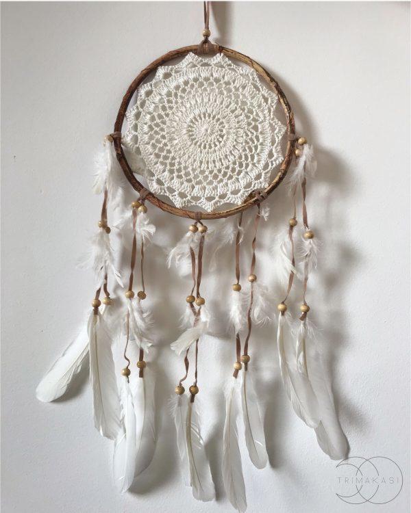 lapač snů dřevěný kruh