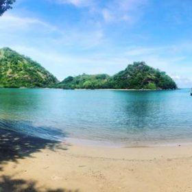 Kopce na ostrově Flores