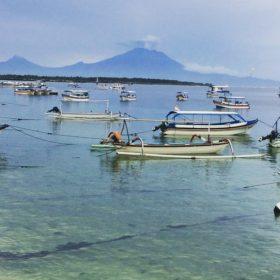 Aktivní sopka Bali