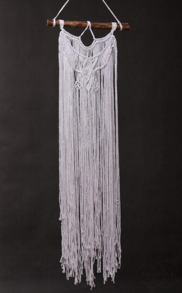 Macrame dekorace na zeď - Knot