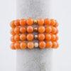 Oranžový avanturín náramek – varianty