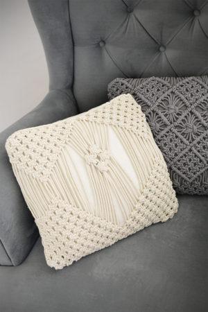 Skandinávský styl bydlení hygge polštáře