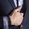 Shamballa Lápis lazuli na ruce