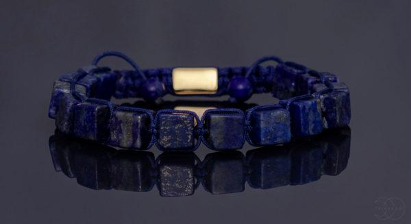 shamballa pánský náramek lapis lazuli