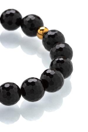 Černý turmalín náramek