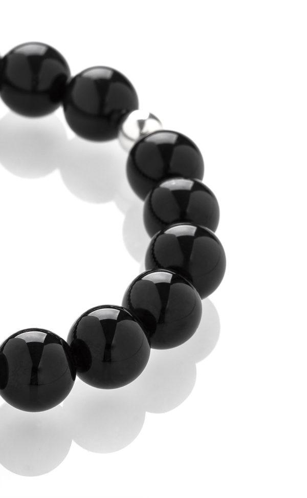 Obsidián náramek