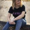 Dámské tričko Karma je zdarma černé