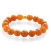 Oranžový avanturín - náramek